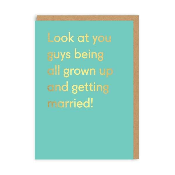 Look At You Guys Greeting Card