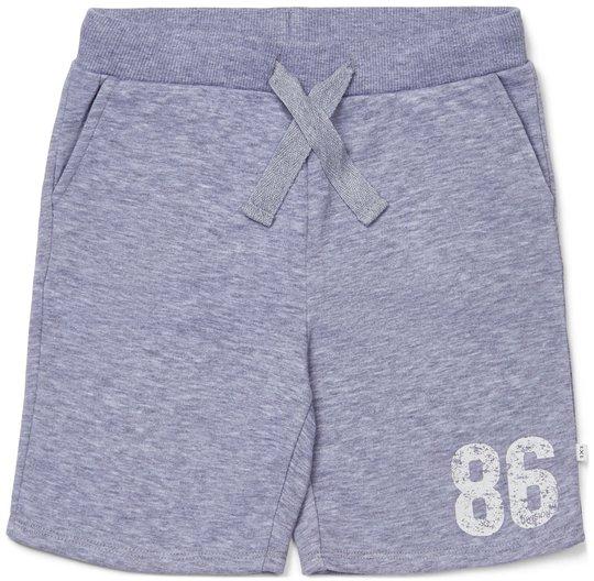 Luca & Lola Ponte Shorts, Grey Melange 98-104