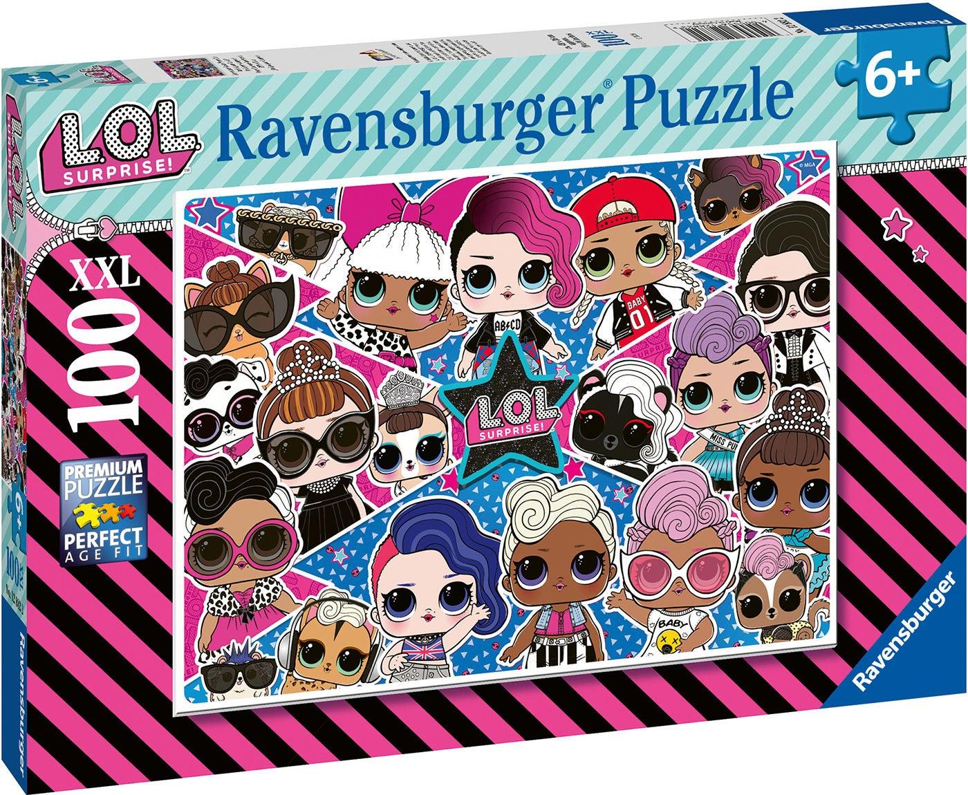 Ravensburger Pussel L.O.L. Surprise! XXL 100 Bitar