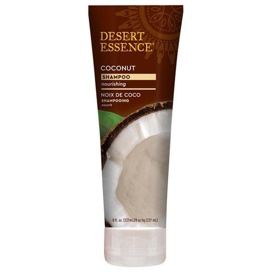 Desert Essence Coconut Shampoo, 237 ml