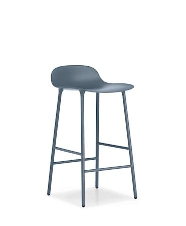 Form Barstol Blå 65 cm