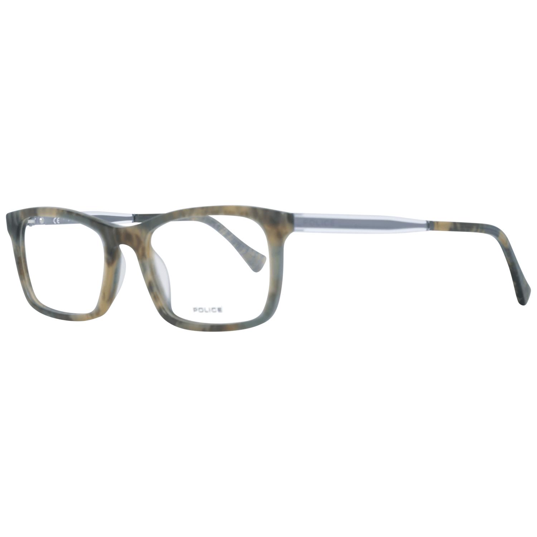 Police Men's Optical Frames Eyewear Green PL262N 527D7M