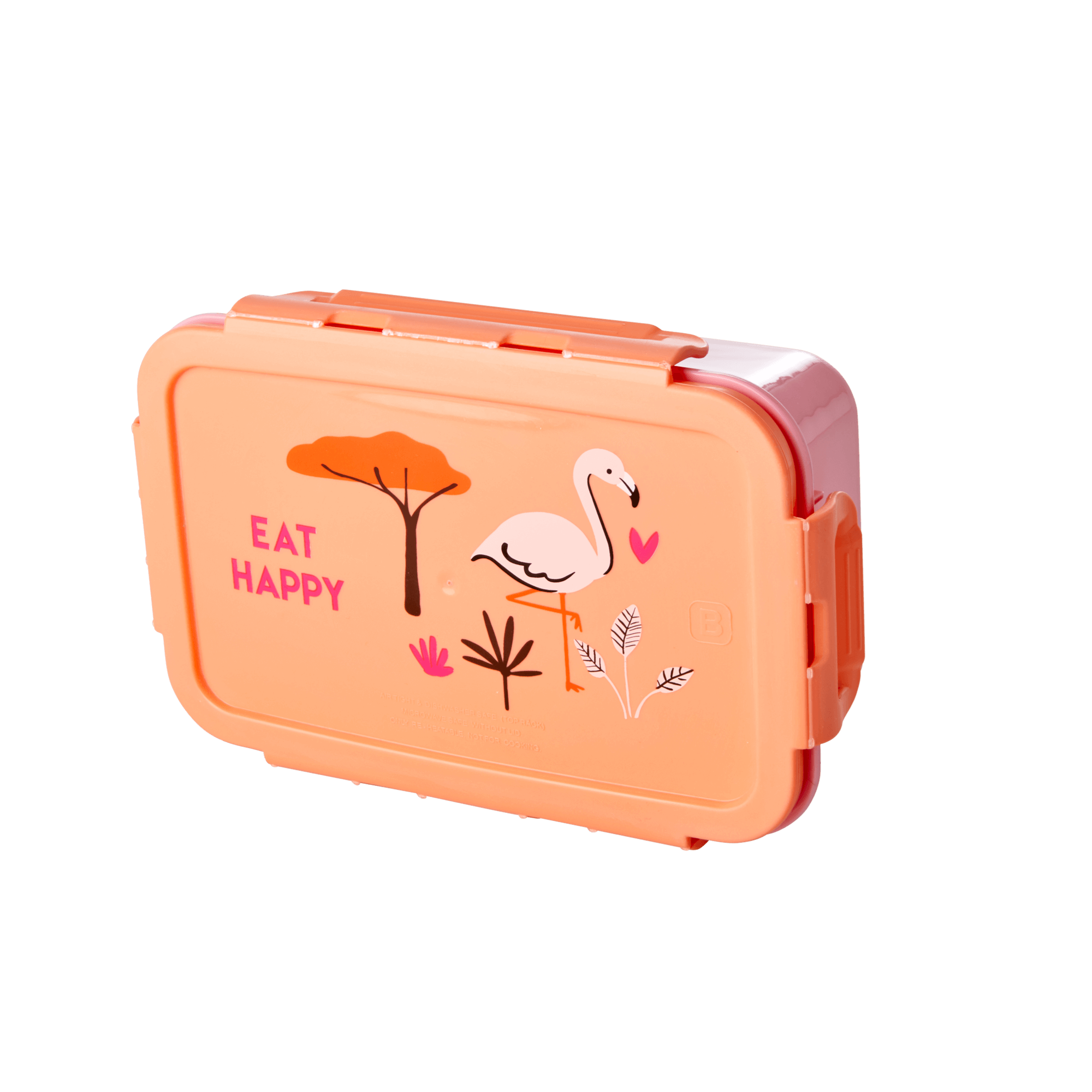 Rice - Lunchbox w. 3 Inserts - Coral Jungle Print