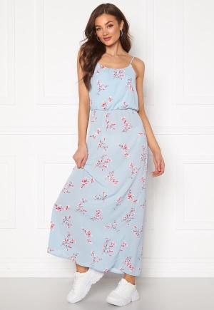 ONLY Nova Lux S/L Maxi Dress Cashmere Blue 36