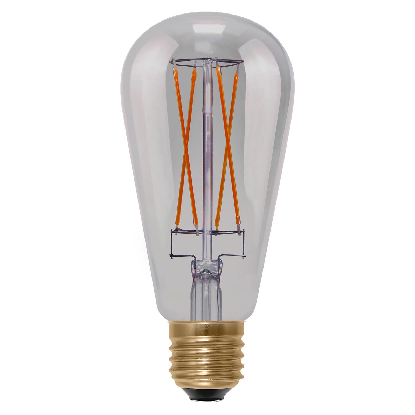 SEGULA rustiikki LED-lamppu E27 6W Long Style
