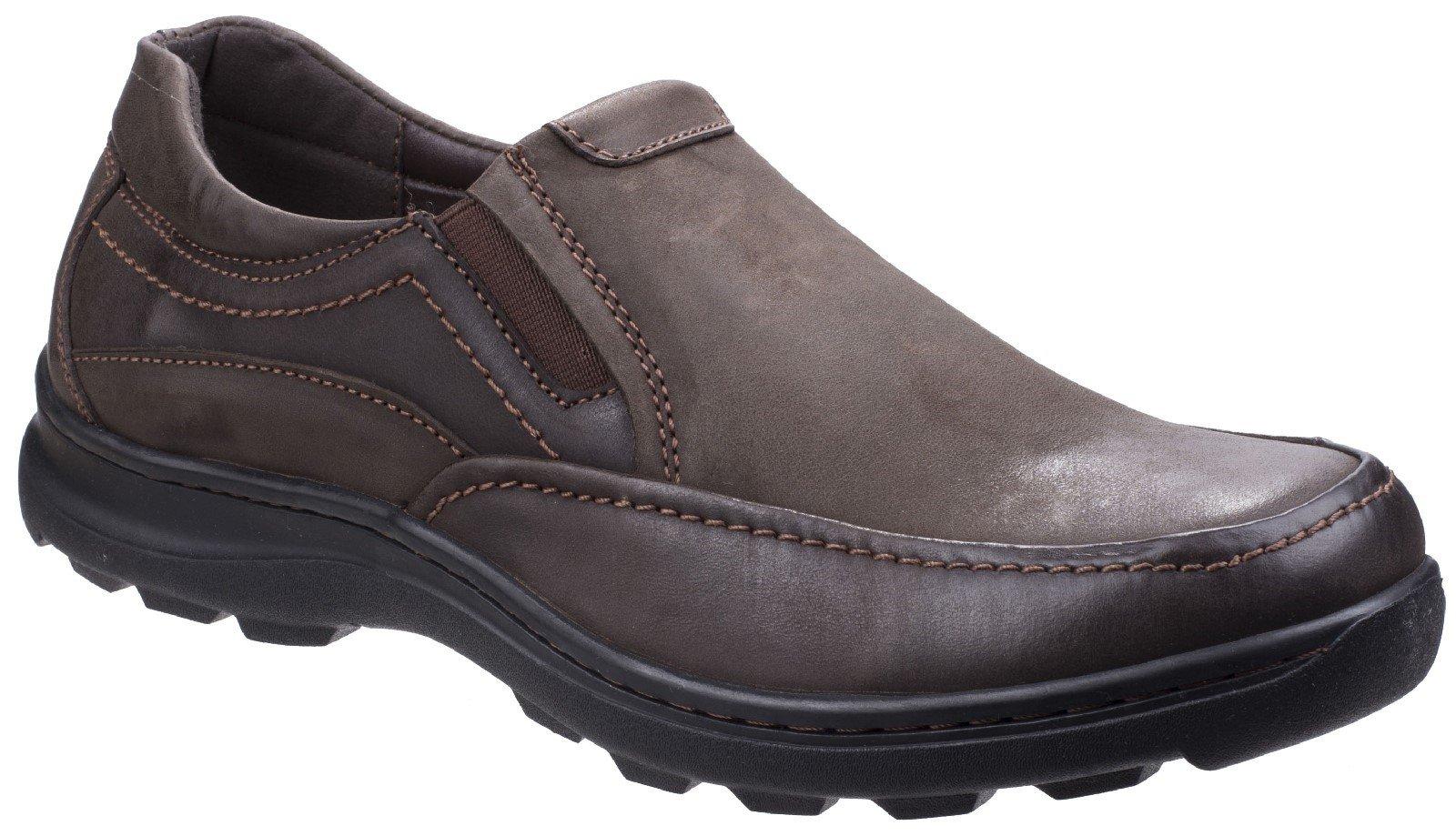 Fleet & Foster Men's Goa Slip On Shoe Black 26315-43925 - Brown 7