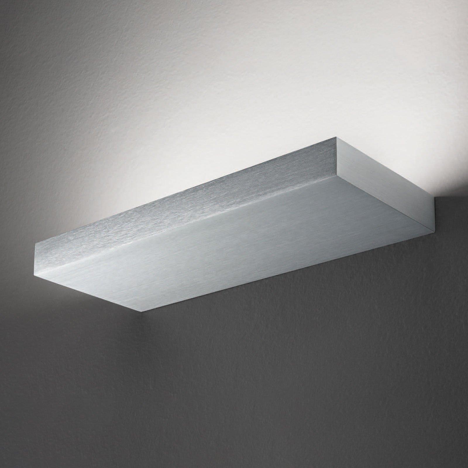 Regolo LED-vegglampe, lengde 24 cm, aluminium