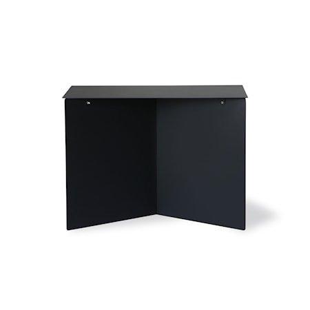 Metall Sidebord RectAngular Black