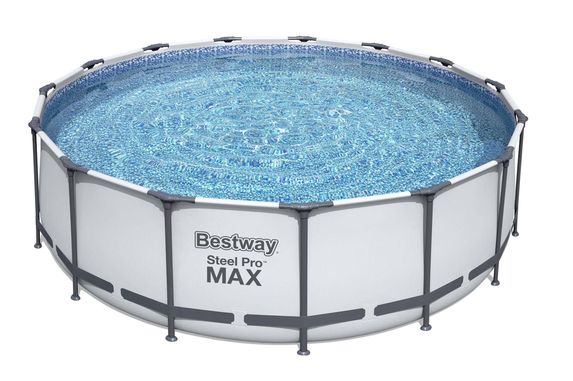 Bestway Steel Pro MAX Pool m. Tillbehör 4.57m x 1.22m