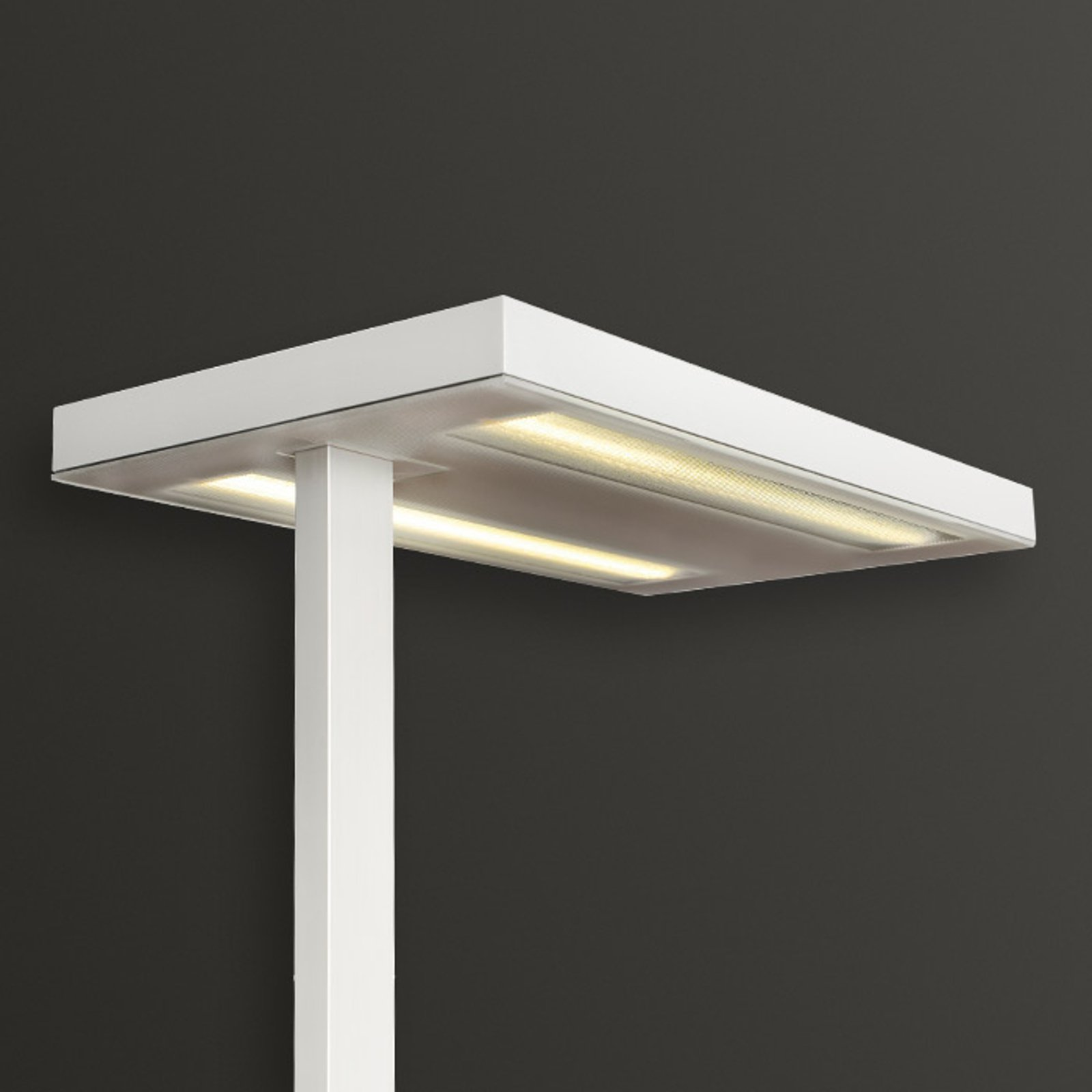Gulvlampe Free-F LED10000 HFDd 840 SD hvit