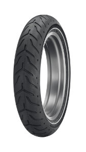 Dunlop D 408 F H/D SW ( 130/80B17 TL 65H M/C, etupyörä WW )