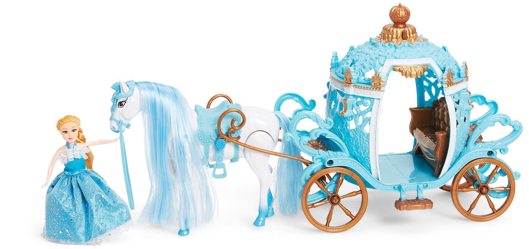 Cloudberry Castle Leikkisetti Prinsessa + Hevosvaunut