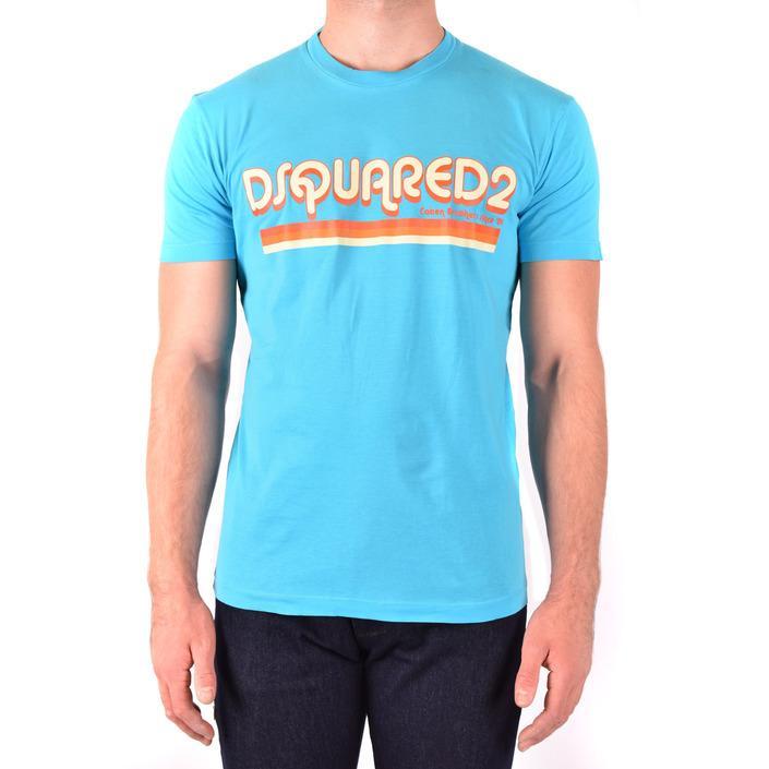 Dsquared Men's T-Shirt Light Blue 181972 - light blue L