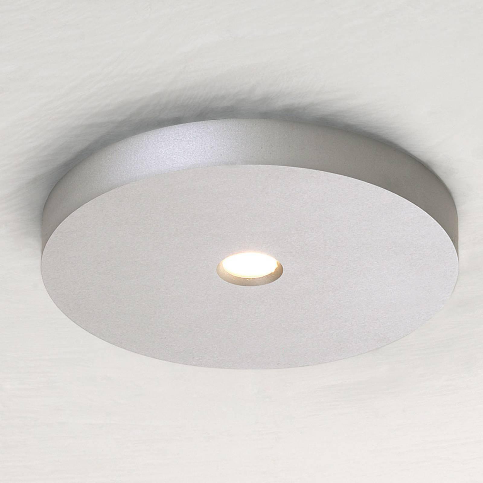 Bopp Close LED-takspot, alu