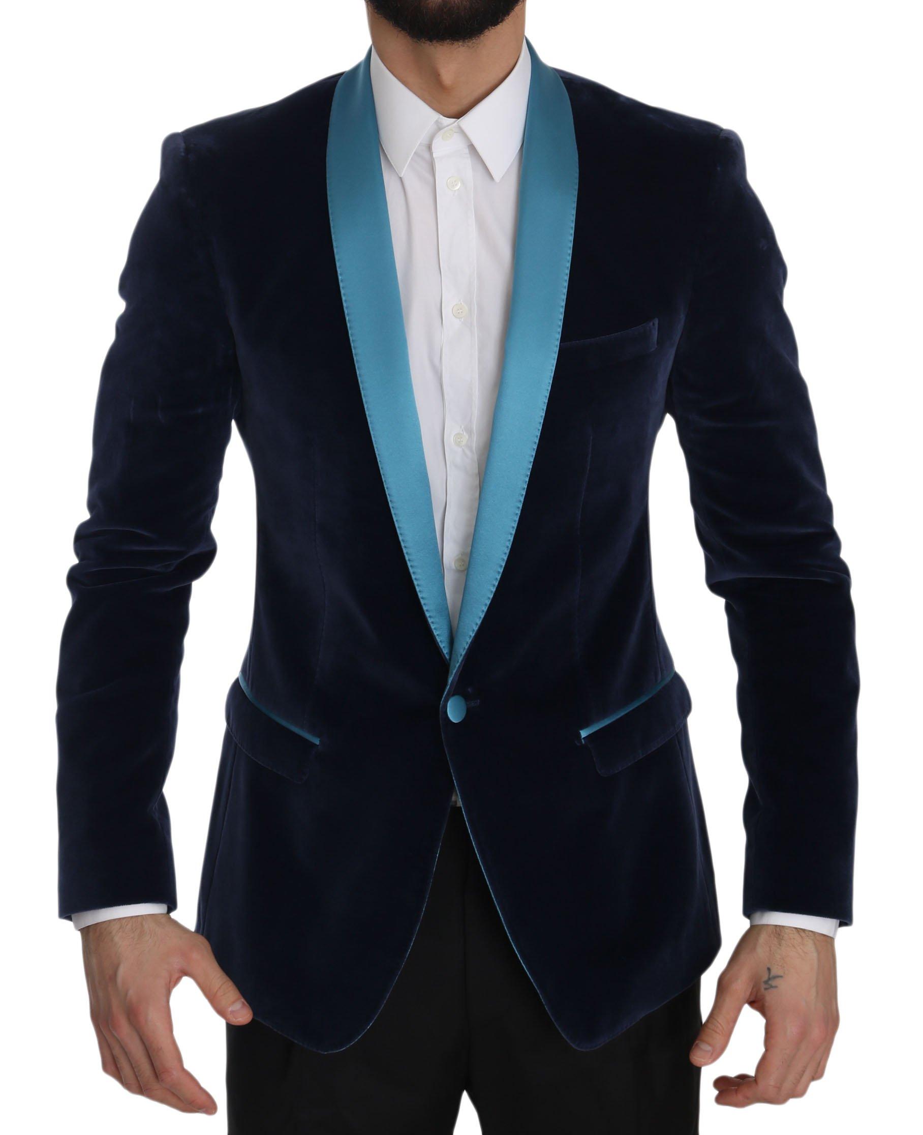 Dolce & Gabbana Men's Blazer Blue JKT2397 - IT46   S