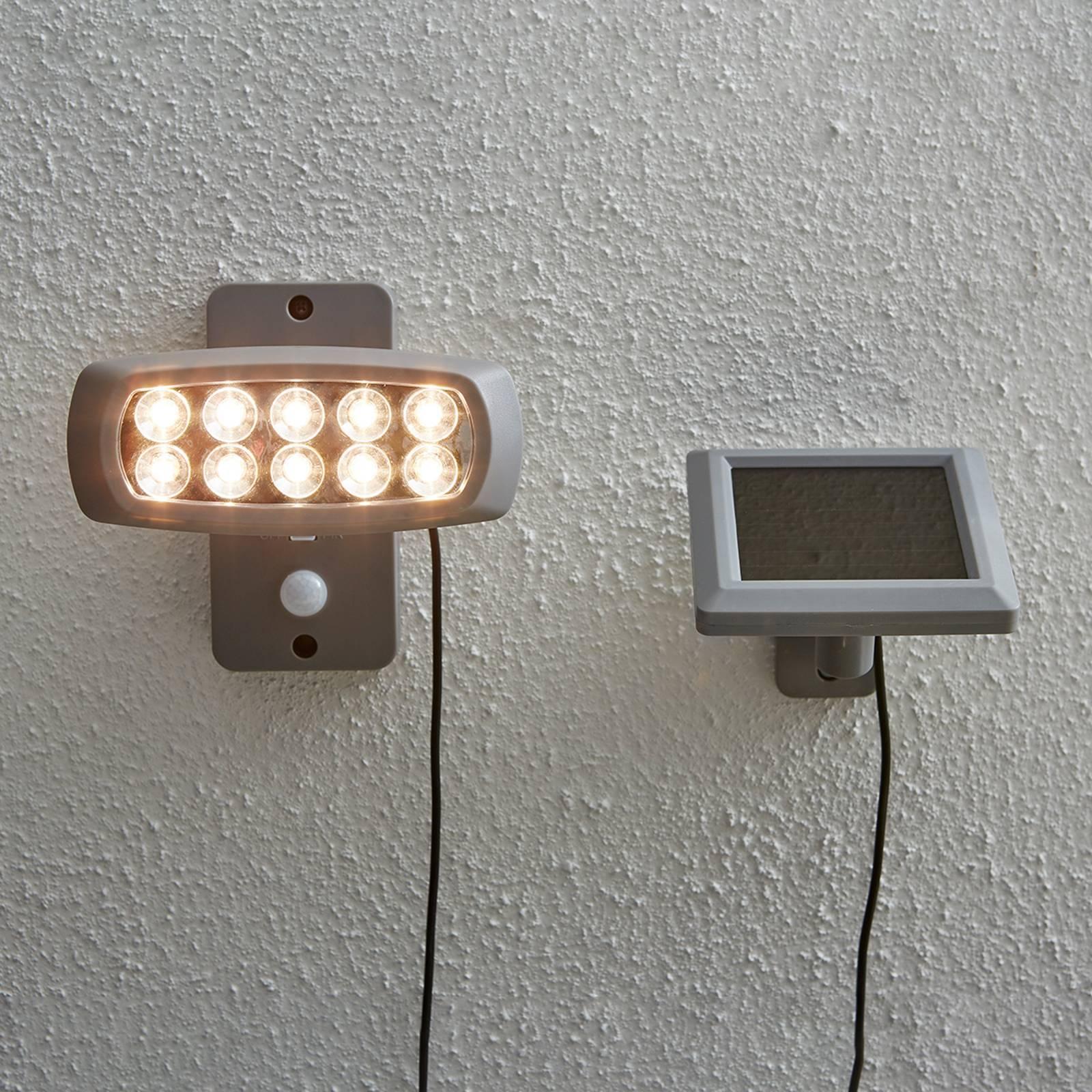 Aurinkokäyttöinen LED-kohdevalo Powerspot, sensori