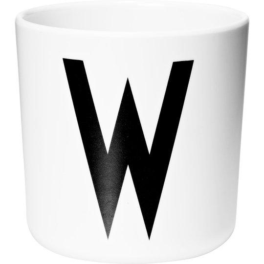 Design Letters Melaminmugg Vit, W