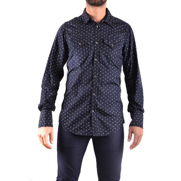 Dsquared Men's Shirt Blue 161785 - blue 50