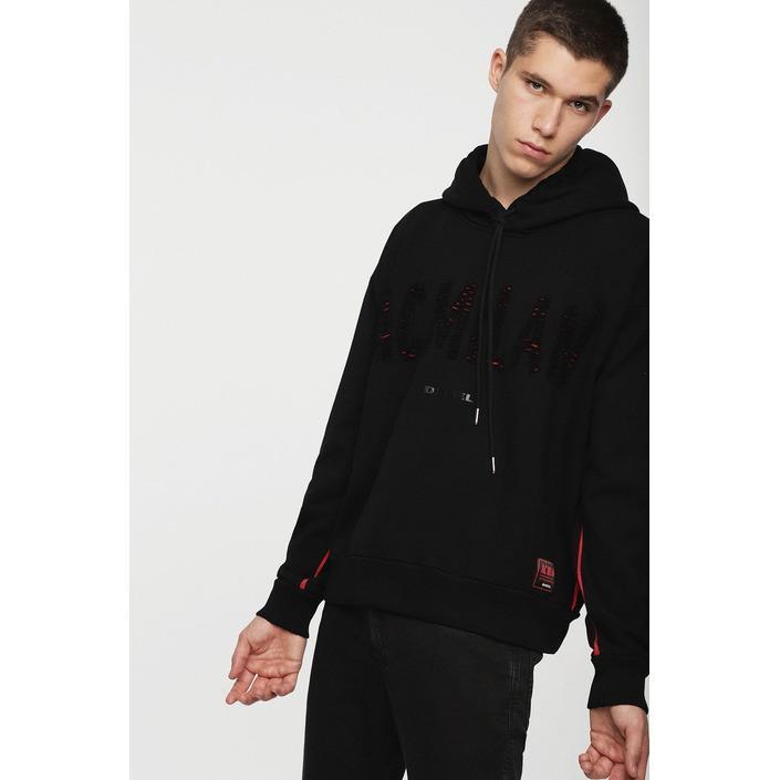 Diesel Men's Sweatshirt Various Colours 270111 - black XL