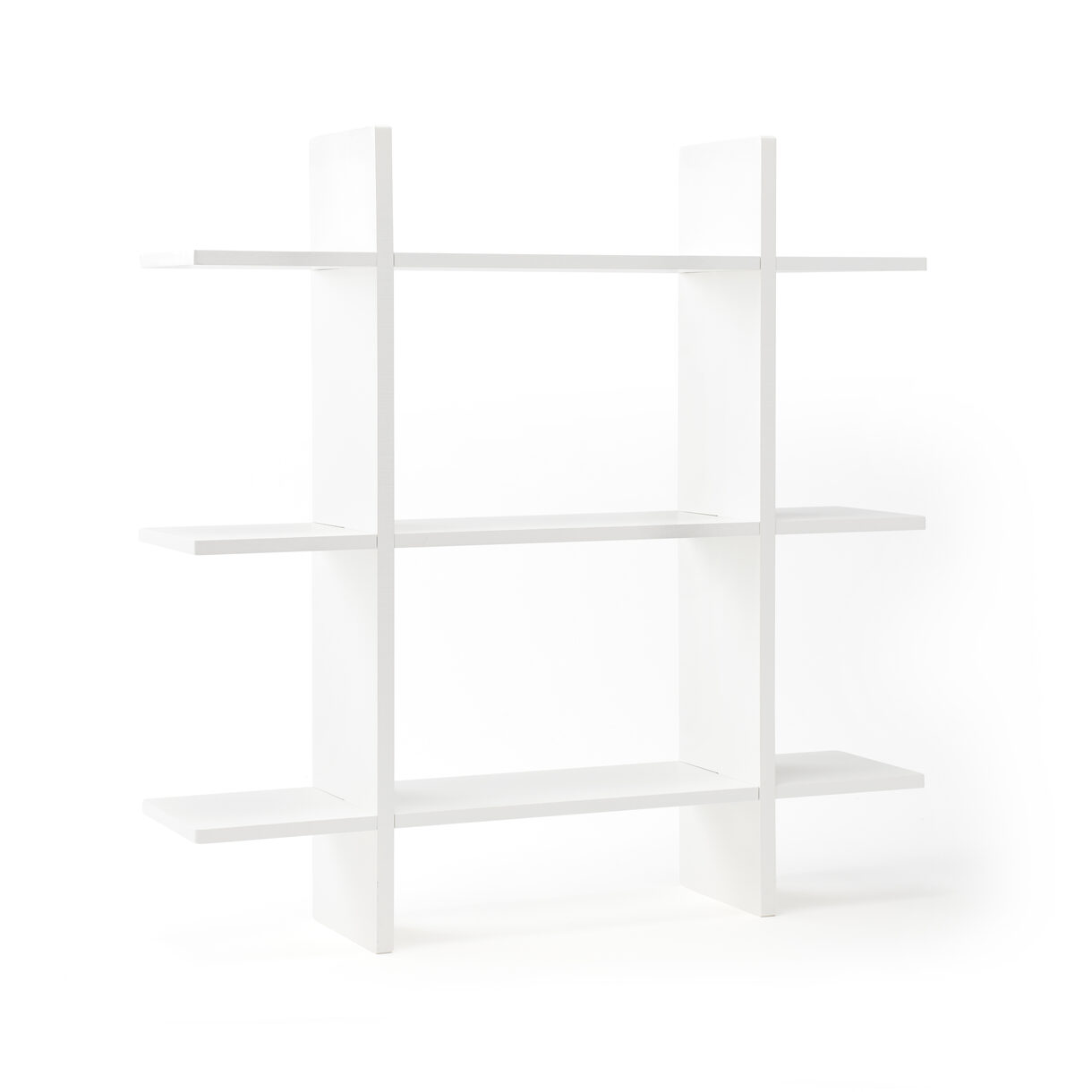 Kids Concept - Wall Shelf with 3 Levels - White (1000438)
