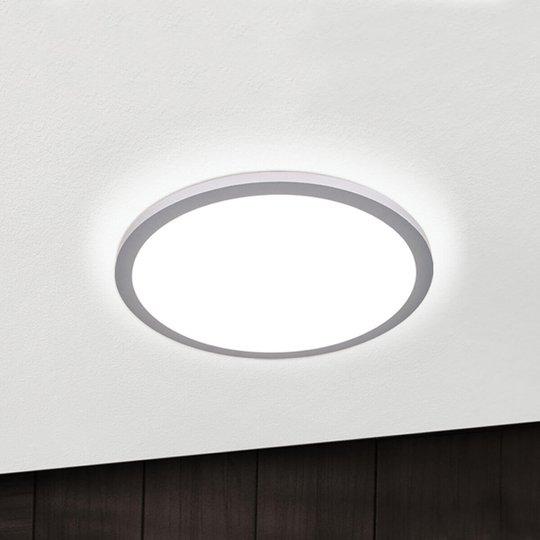 Titaaninvärinen LED-kattolamppu Aria, himm., 40 cm