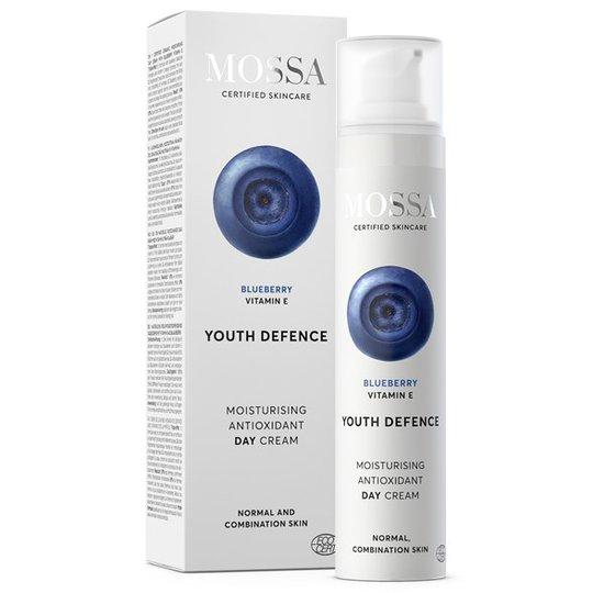 Mossa Youth Defence Moisturising Antioxidant Day Cream, 50 ml