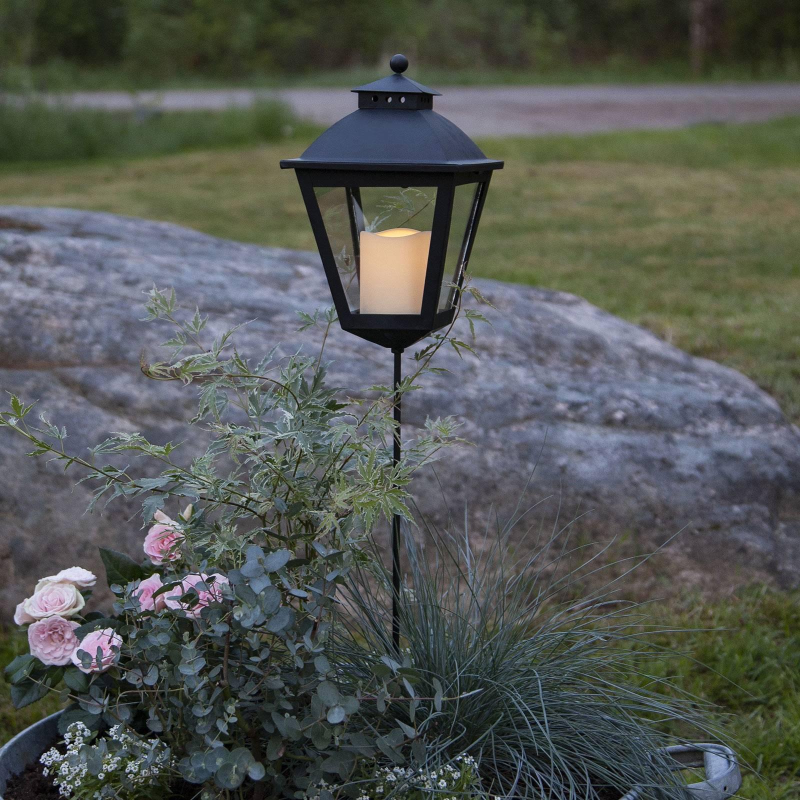 Serene-LED-hautalyhty ajastimella, korkeus 84 cm