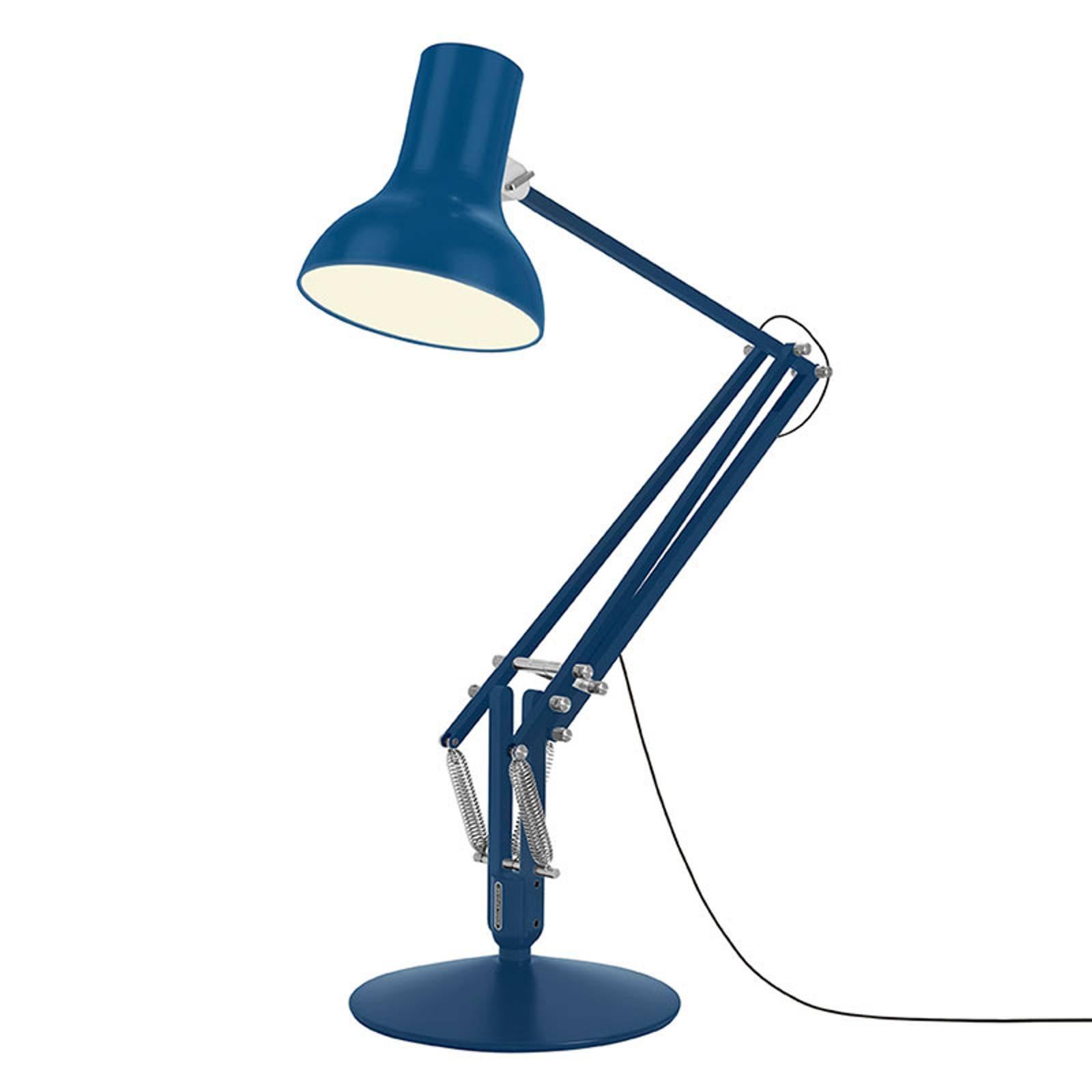 Anglepoise Type 75 Giant gulvlampe blå