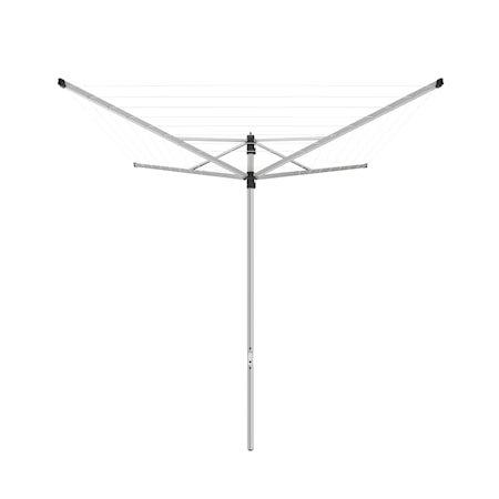 Torkvinda Split Pole Lift-O-Matic Grå 199 cm