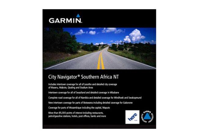 Garmin Södra Afrika NT Garmin microSD™/SD™ card: City Navigator®
