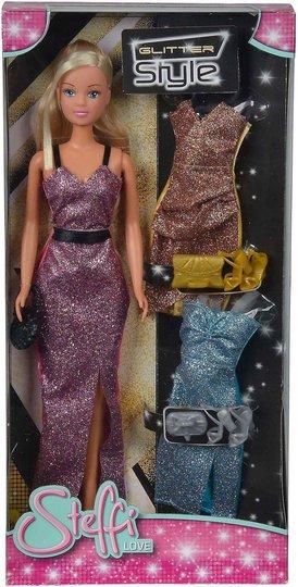 Steffi Love Dukke Glitterkjoler