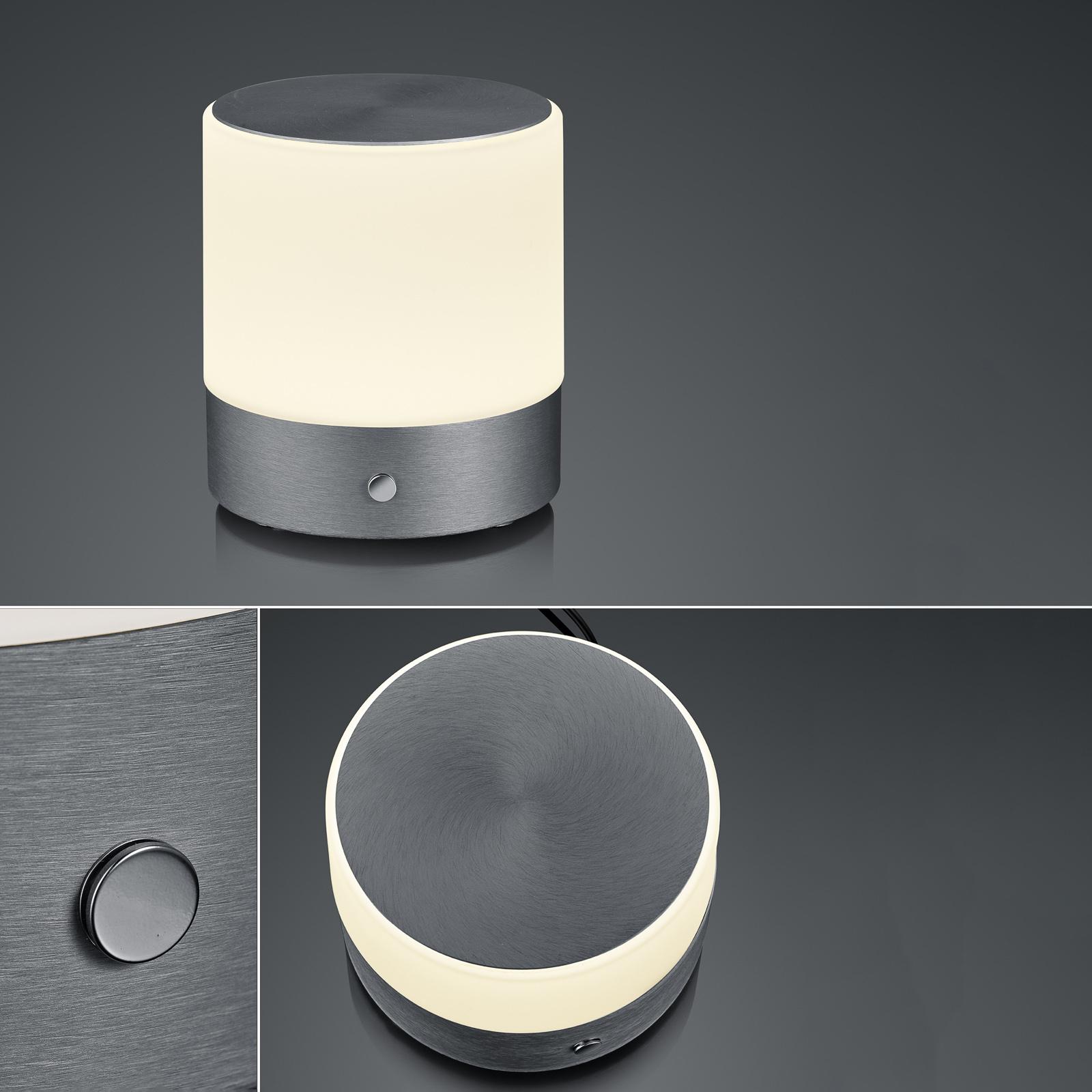 BANKAMP Button LED-pöytälamppu 18,5cm antrasiitti