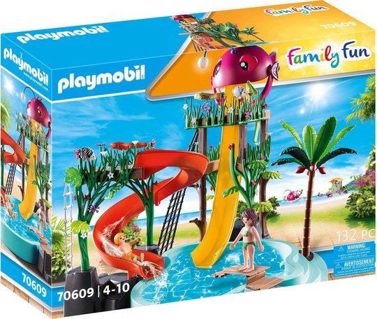 Playmobil 70609 Aqua Park med Sklier