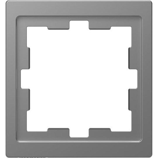 Schneider Electric MTN4010-6536 Yhdistelmäkehys 1 lokero, t-muovi Hopea