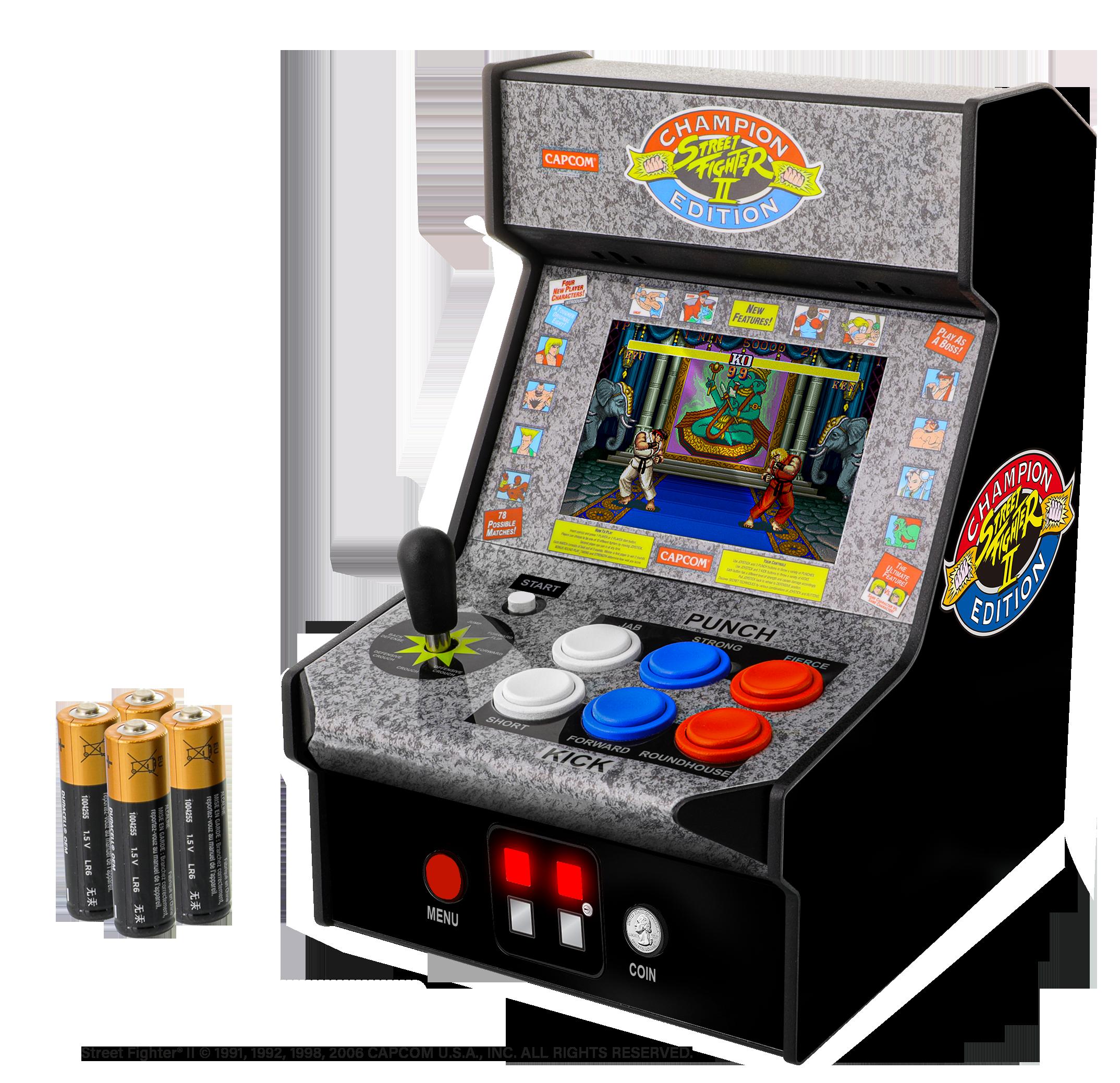 "Myarcade Street Fighter 2 Champion Edition Micro Player 7,5"""