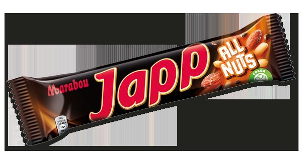 Marabou Japp All Nuts 60g
