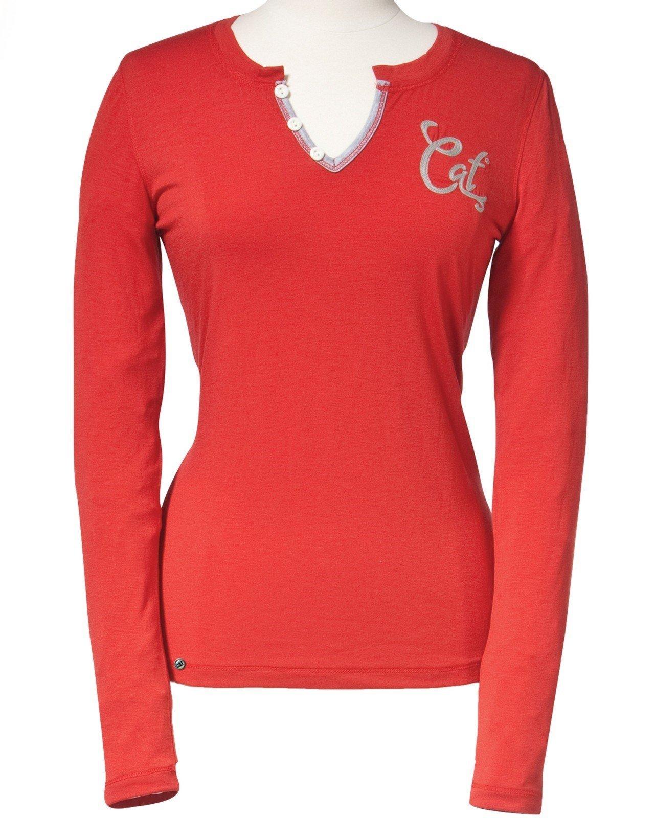 Caterpillar Women's Signature LS T-Shirt Gerani 20775 - Gerani Xsl