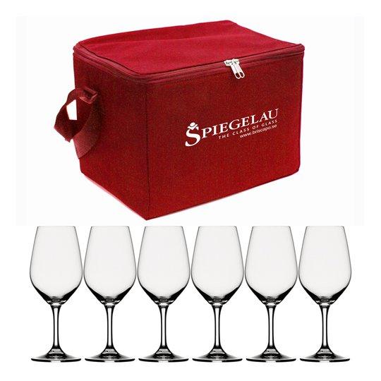 Spiegelau - Spiegelau Expert Vinprovarset 6 delar Svart