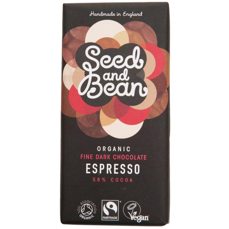"Eko Mörk Choklad ""Espresso"" 85g - 17% rabatt"