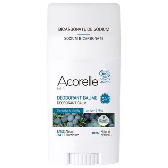 Acorelle Juniper & Mint Deodorant Balm, 40 g