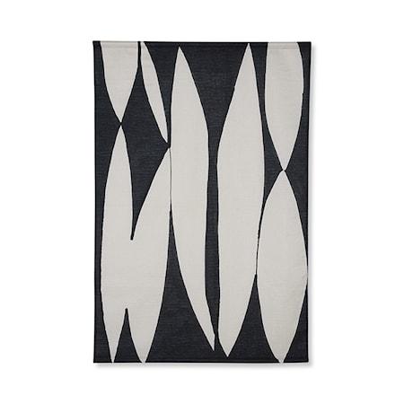 Abstract Väggdekoration Svart/Vit