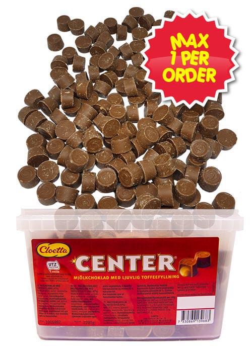 Center - 2,2 kg MAX 1