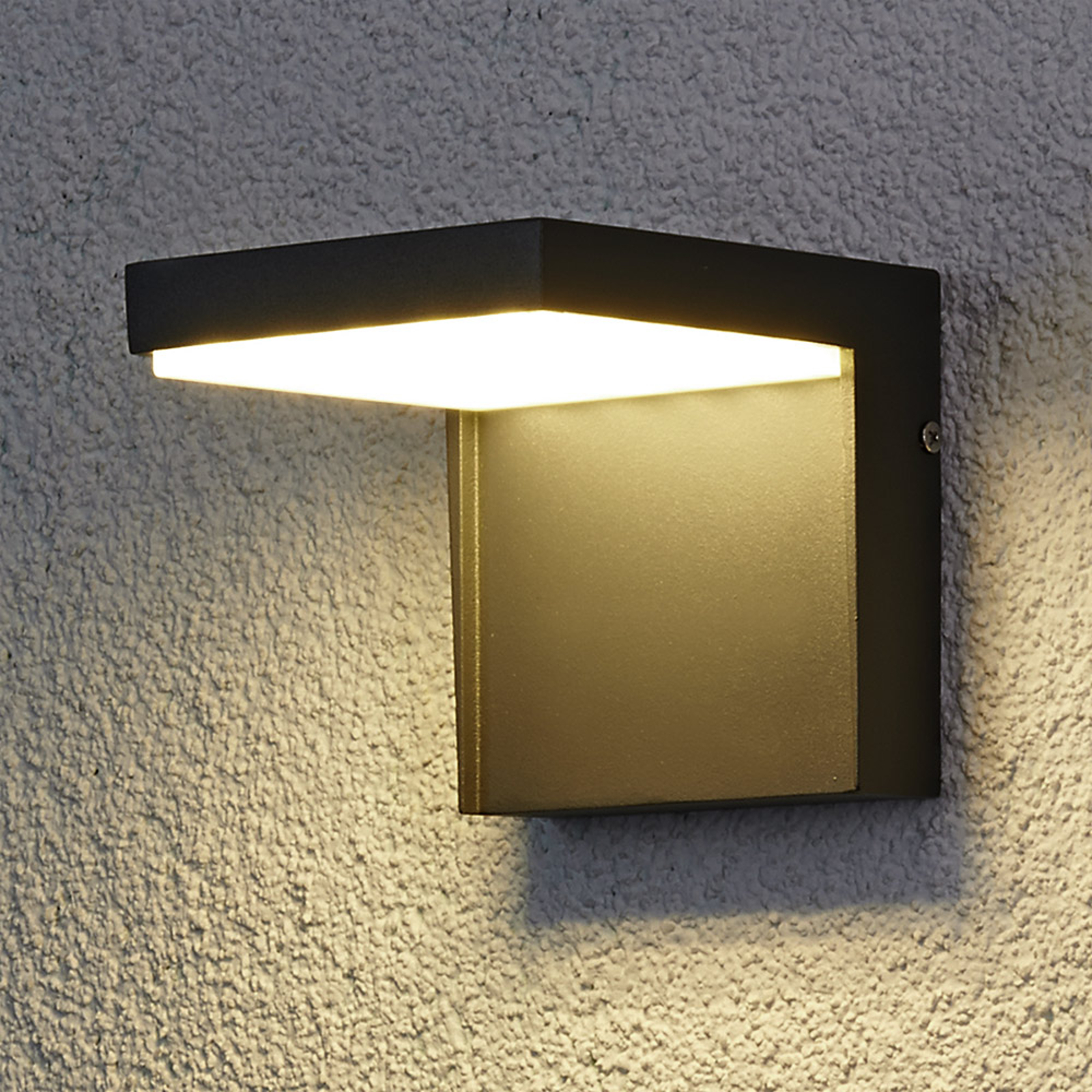 Moderni LED-ulkoseinävalaisin Rachel alumiinista