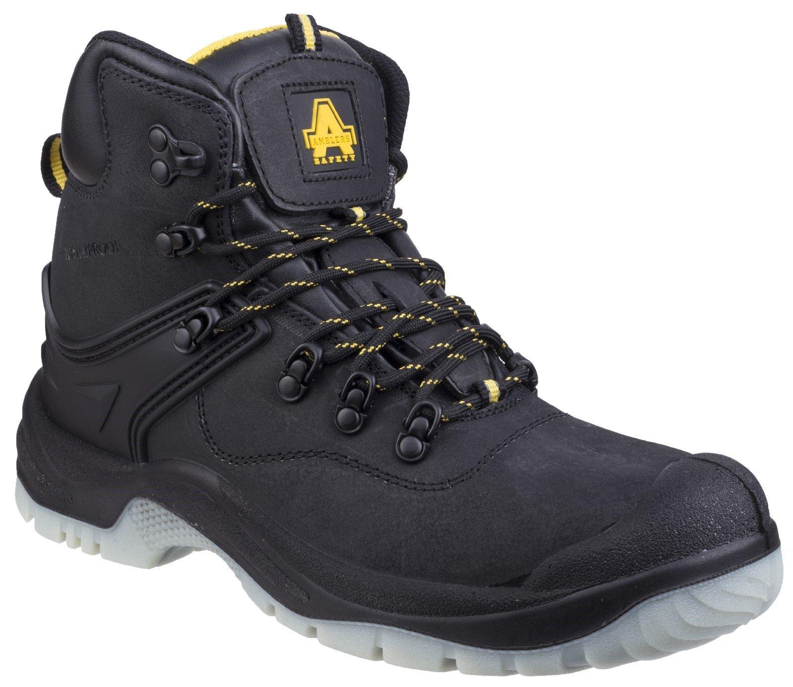 Amblers Unisex Safety Boot Black 24882 - Black 4