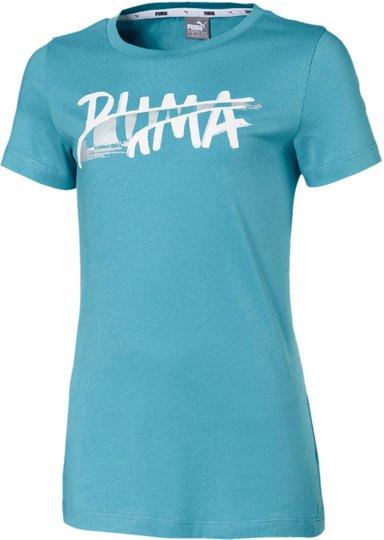 Puma Logo T-Shirt, Blue 104