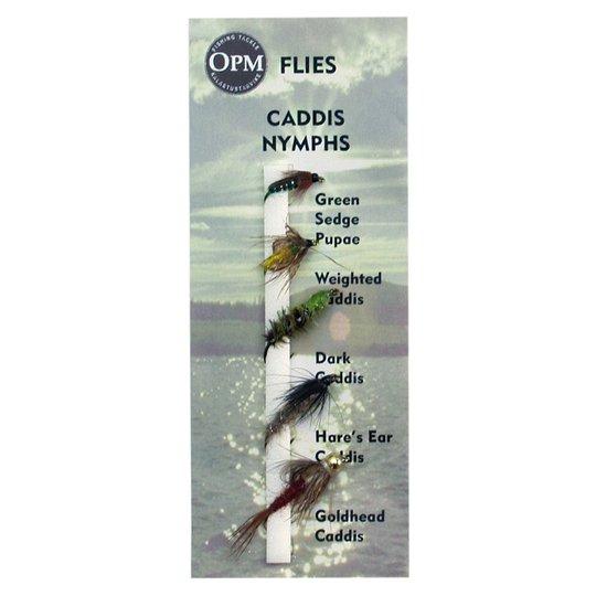 OPM Caddis Nymphs Flugsortiment