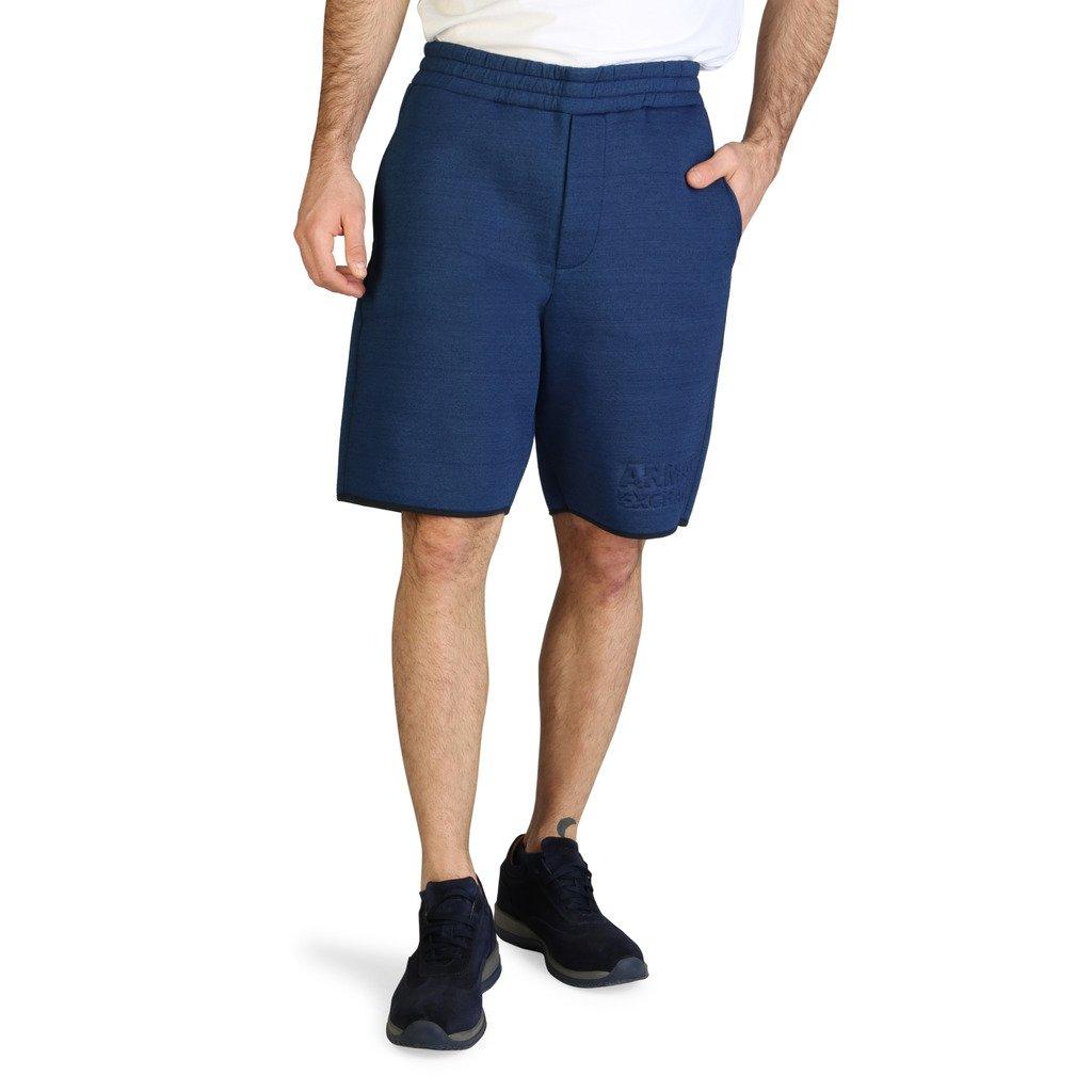 Armani Exchange Men's Short Blue 6ZZS71_ZJV7Z - blue XS