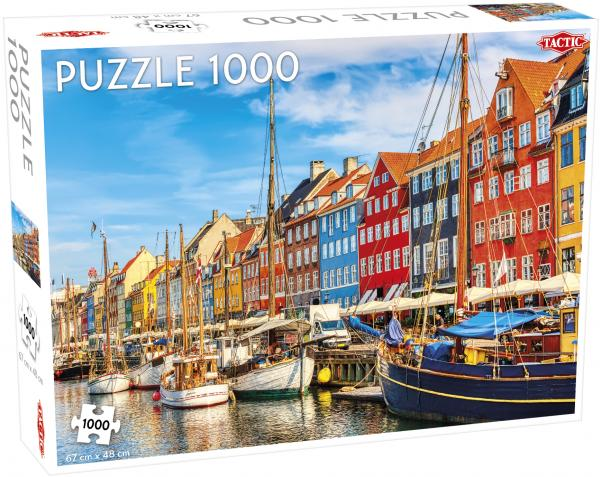 Tactic - Puzzle 1000 pc - Nyhavn, Copenhagen