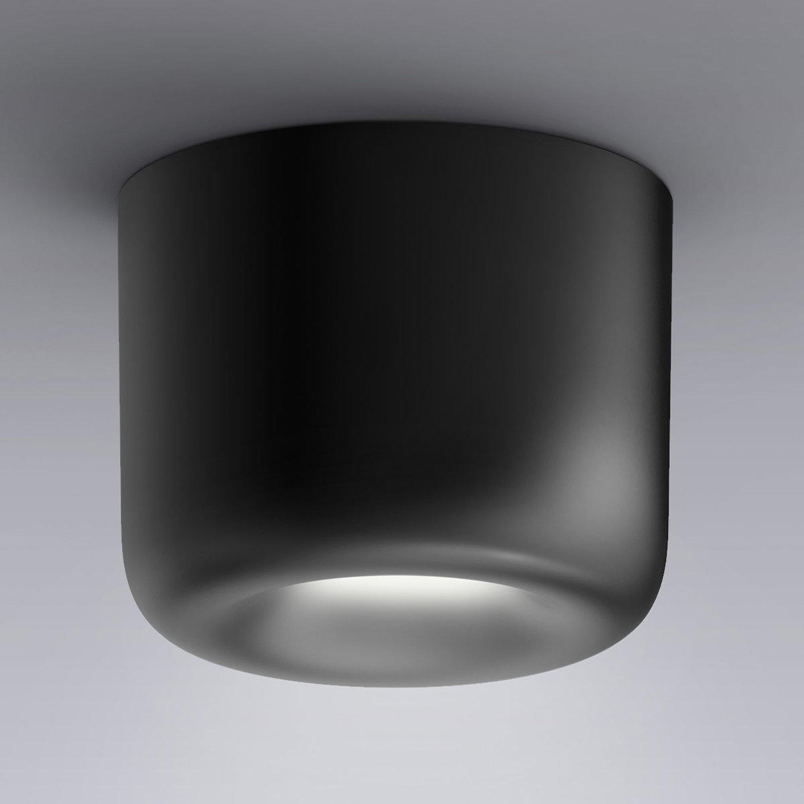 serien.lighting Cavity Ceiling S, svart