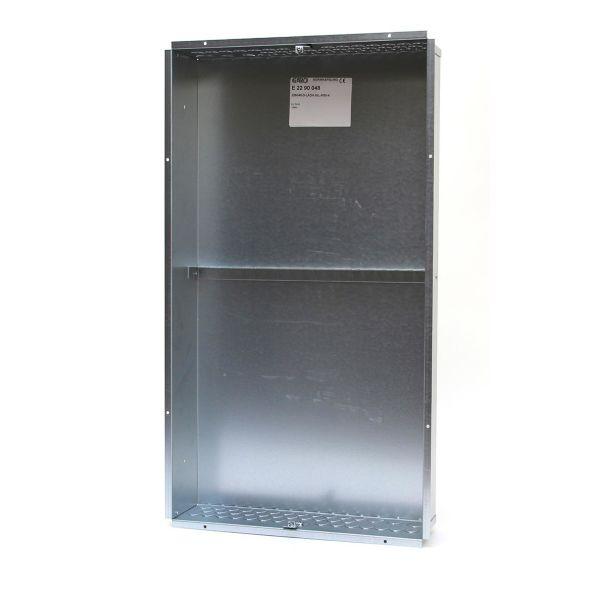 Garo NIL-M 80-4 Bunnkasse for innfelt montering, kombi 4 rader, 80 moduler